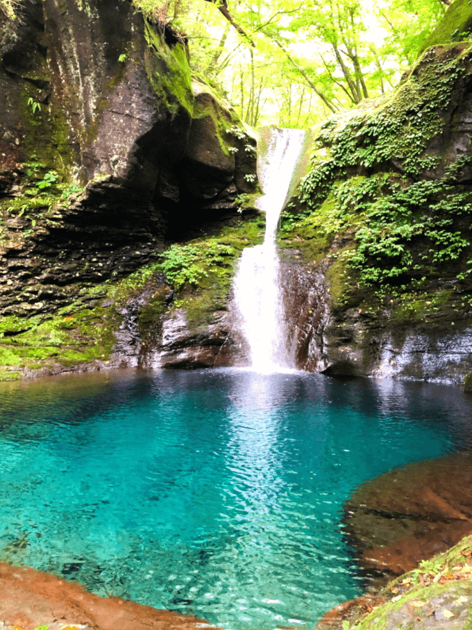 おしらじの滝2