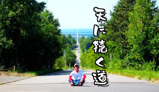 これぞTHE北海道ロード【天に続く道】28kmの直線道路が絶景すぎた