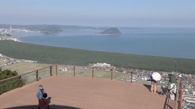 鏡山展望台2