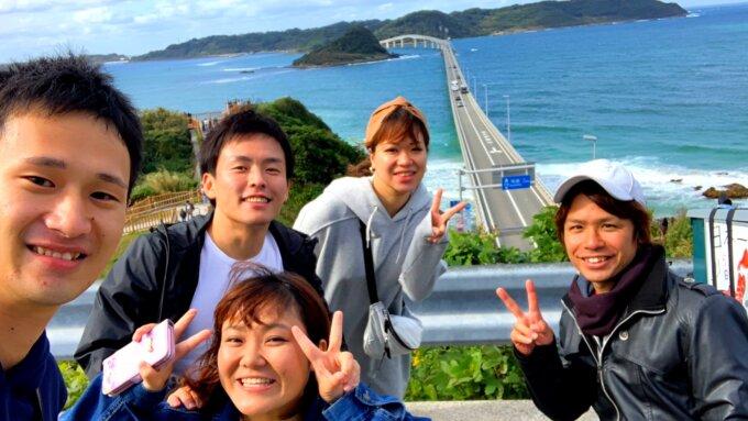 角島大橋出会い