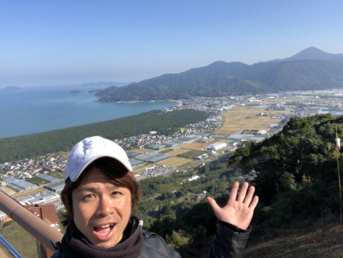 鏡山展望台1